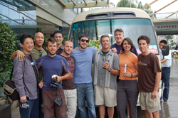 Kevin Rose, Tim Ferriss and Glenn McElhose joined Austin Hodge on a tour of China in 2009.