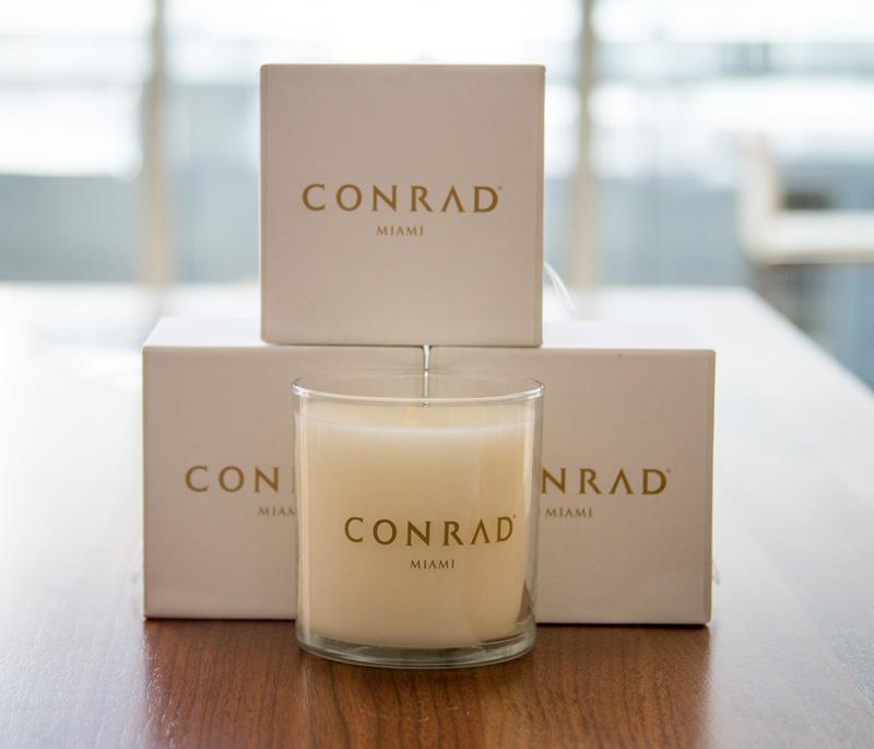 Conrad Miami Mango Peach Candle