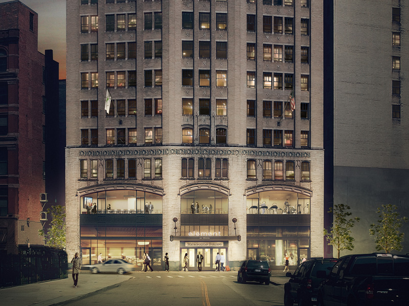 Element Detroit at the Metropolitan Building