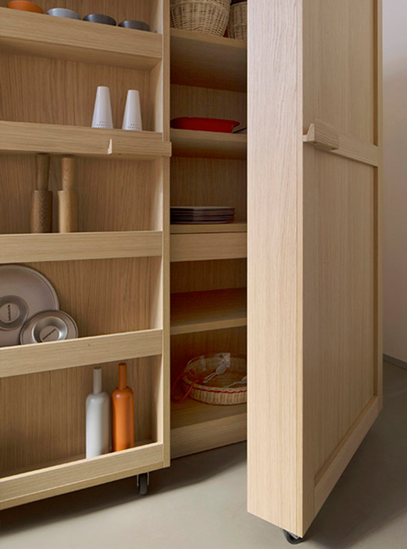 Studio Benedini Associati's kitchen cabinet for KEY Cucine
