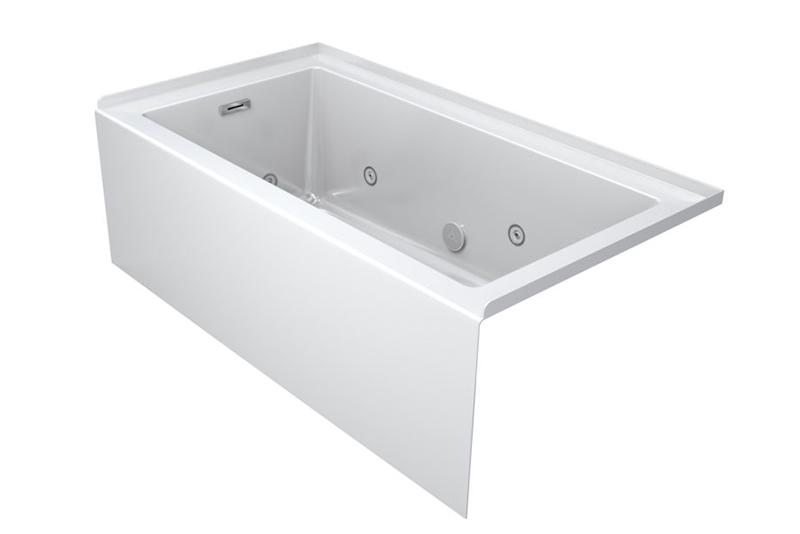 Linea bathtub line