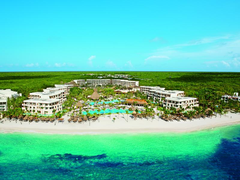 Secrets Akumal Riviera Maya aerial shot