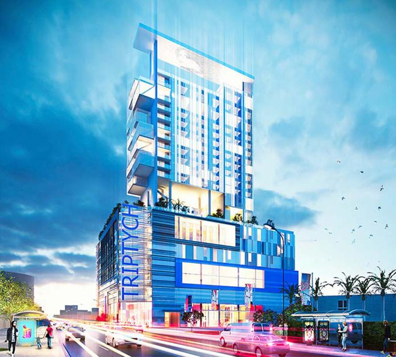 Bermello Ajamil and Partners designs Triptych Miami Design District