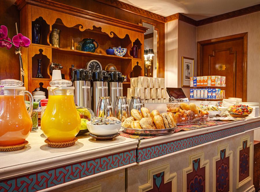 Hotel breakfast