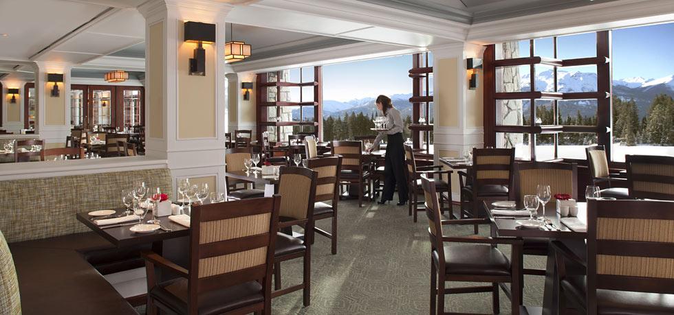 Fairmont Jasper Park Lodge restaurant