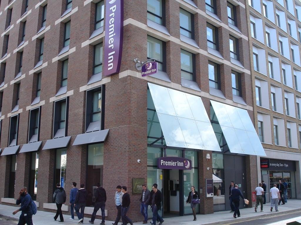 The Premier Inn Southwark, London