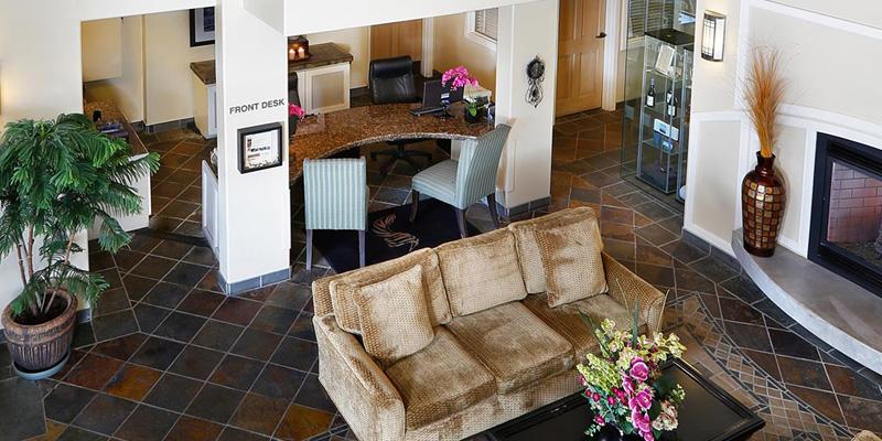 Sanctuary hotel lobby