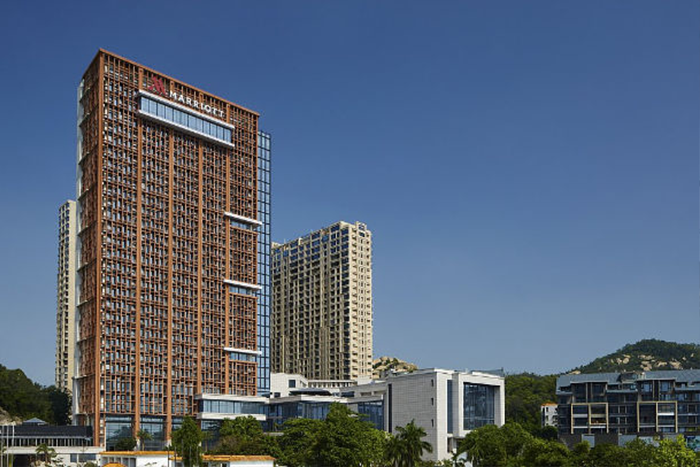 Zhuhai Marriott Hotel in China