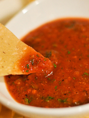 National Chips and Dip Day - Roasted Tomato Salsa