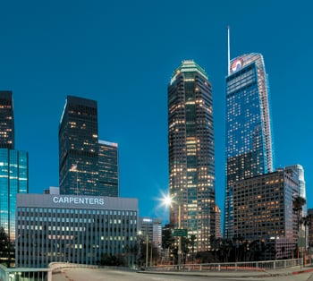 A 900-room InterContinental hotel will be part of the more than $1-billion Wilshire Grand project in Los Angeles.