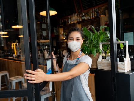 Woman Restaurant Owner