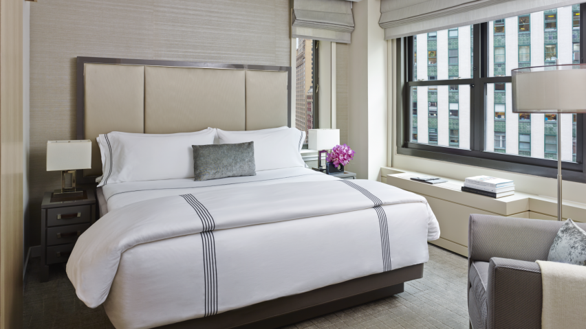 Materials Are Tops In Hotel Bedding, What Is Meant By Bedding Material