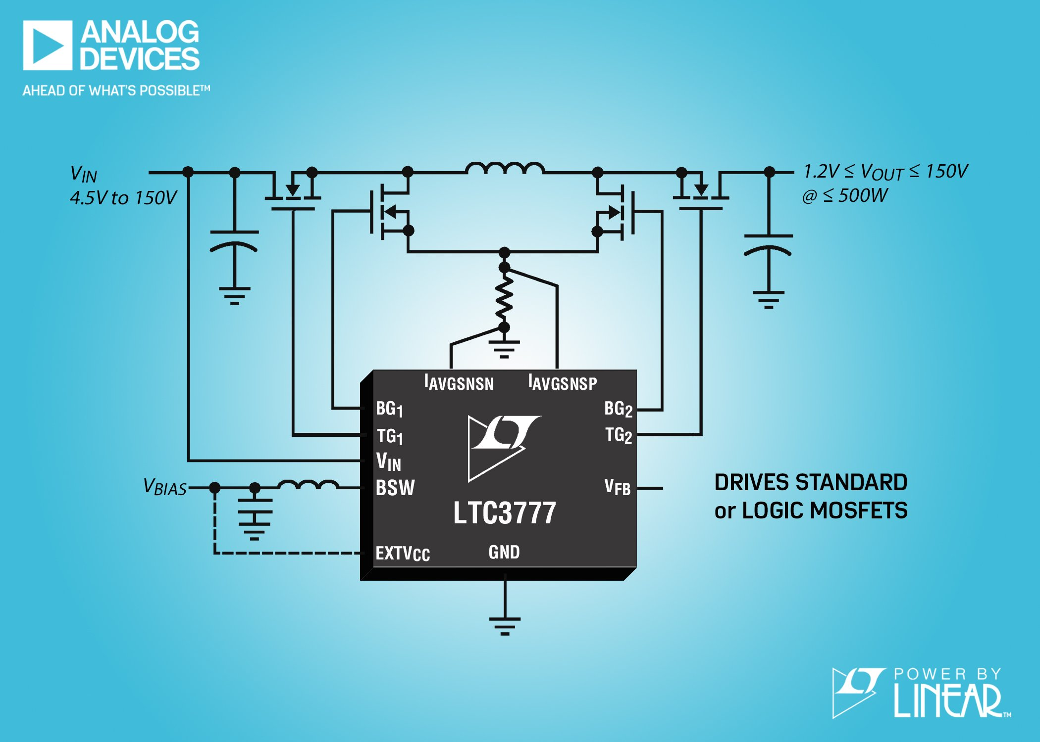 Synchronous Buck-Boost Controller Integrates Switching Bias Supply ...