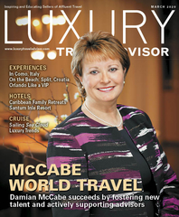 March 2020 Luxury Travel Advisor cover