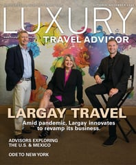 Luxury Travel Advisor October/November 2020
