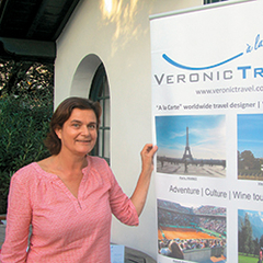 Veronique Banzet of VeronicTravel, a division of Bayside Travel