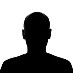 headshot photo silhouette
