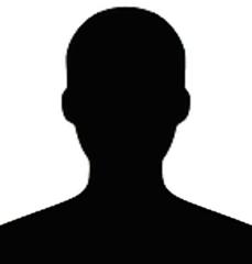 blank shadow face