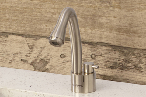 Lenova's Aqualogic ozone kitchen faucet