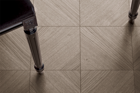 Wood range of floor tiles by Bisazza