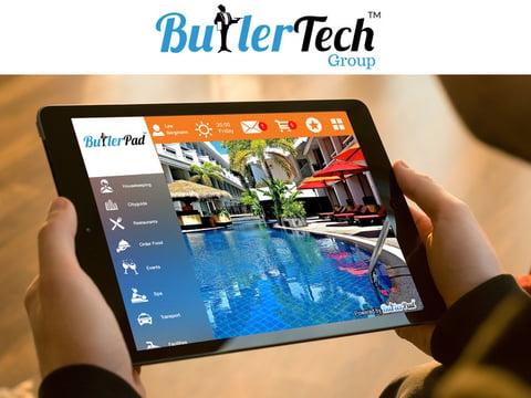 ButlerTech's virtual concierge application ButlerPad.