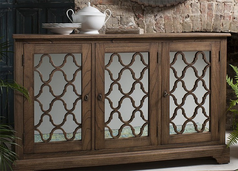 Hamilton mirrored sideboard by Gallery Direct