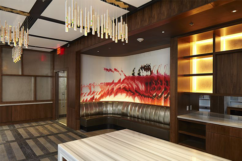 Réalisations Inc. designs interactive wall at Renaissance New York Midtown Hotel New York