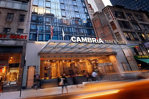 Cambria Hotel Front