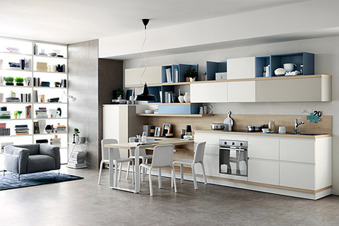 Ora-Ïto's Foodshelf collection for Scavolini