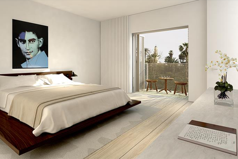 John Pawson designs Tel Aviv W Hotel penthouse