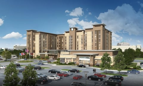Destiny USA Hotel Rendering