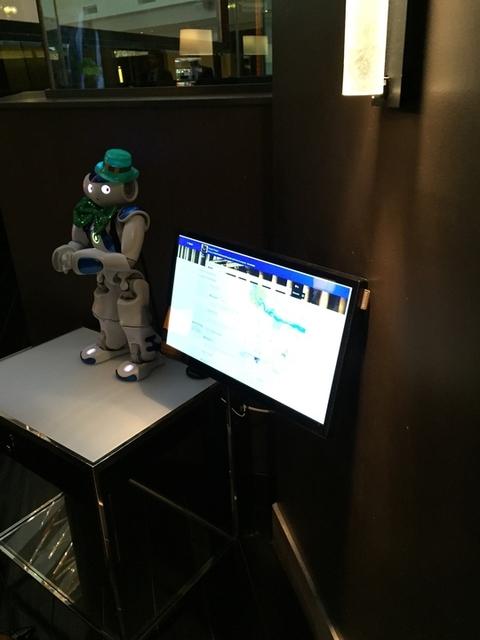 Hilton's Connie robot concierge