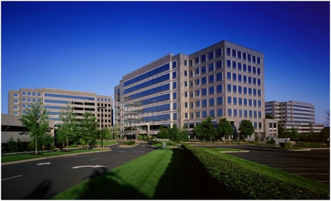 Valeant's headquarters in New Jersey
