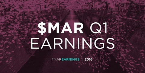 Marriott Q1 Earnings