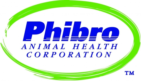 words phibro animal health corporation circled