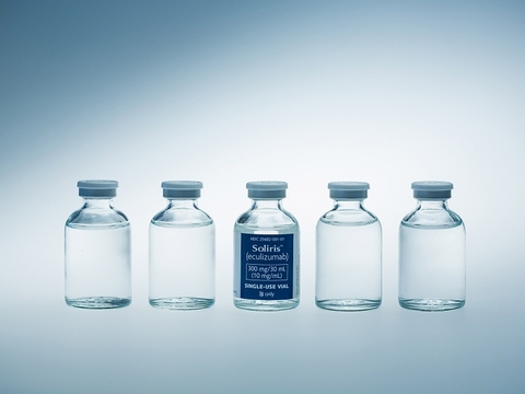 Five vials of Alexion's Soliris