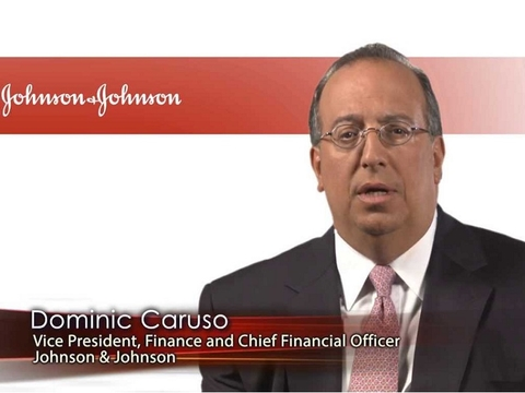 Dominic Caruso, Johnson & Johnson chief financial officer