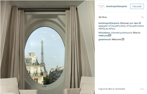 Le Metropolitan Instagram account
