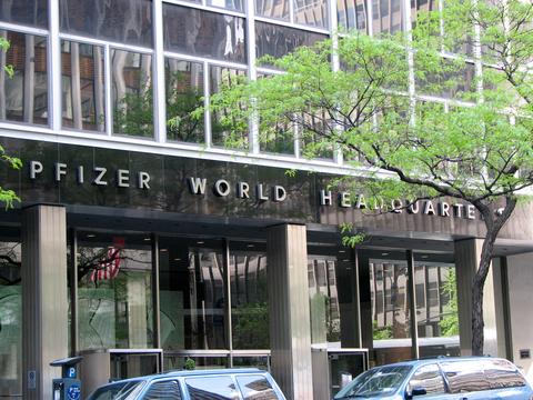 Pfizer's headquarters