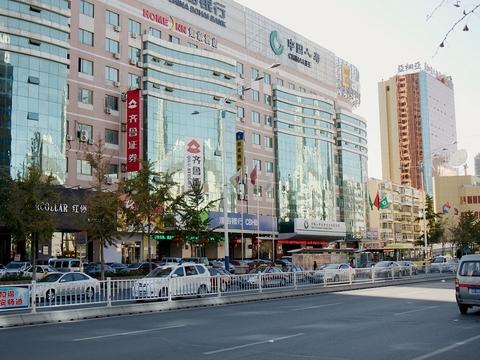 Downtown Yantai, Shandong, China