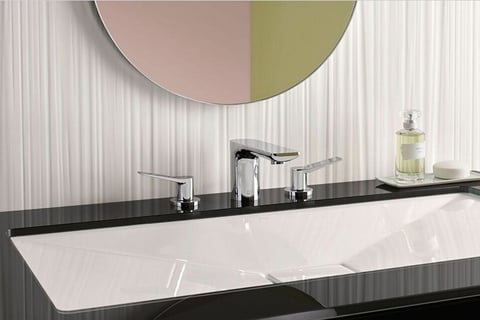 Lissé bath fittings