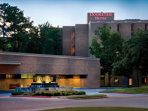 DoubleTree by Hilton Houston Intercontinental Airport front entrance