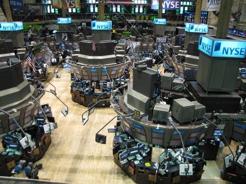 NYSE screens