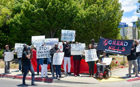 Gilead protest
