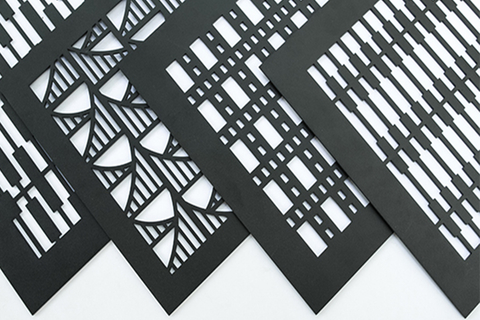 AJK Design Studio ceiling squares