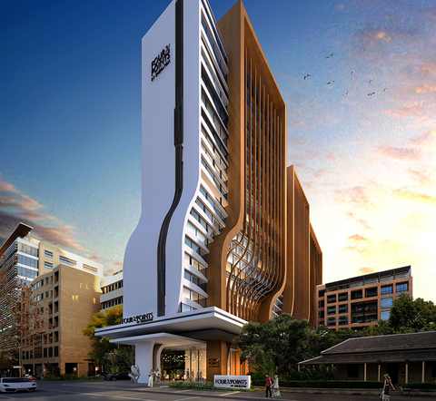 Four Points by Sheraton Parramatta Exterior