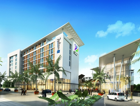 The Radisson Blu Hotel, Accra Airport is the first hotel in Africa to receive IFC's EDGE green building certification