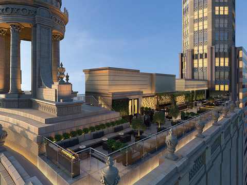 LondonHouse Chicago rooftop bar