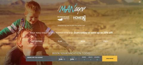 Hilton's Travel MANager program