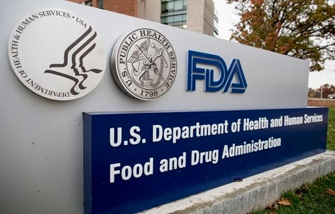 Front of office building for FDA
